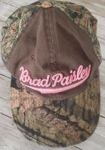 Brad Paisley Distressed Camo Hat
